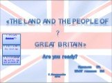 «The land and the people of