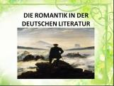 Romantic in deutsche literatur