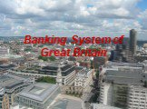 Banking system of great britain