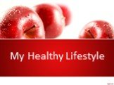 My Healthy Lifestyle