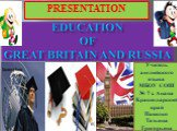 Education of great britain and russia