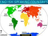 English speaking countries