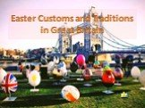 Easter Customs and Traditions in Great Britain