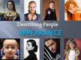 Describing people appearance