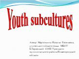 Youth subcultur