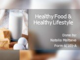 Healthy Food & Healthy Lifestyle